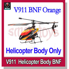 WLtoys V911 2.4GHz 4CH Micro Single-rotor RC Helicopter BNF with Gyro Body Only(China)