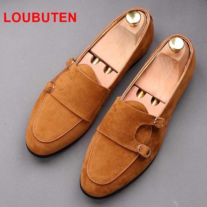 Detail Feedback Questions About Loubuten Double Monk Strap Shoes Men