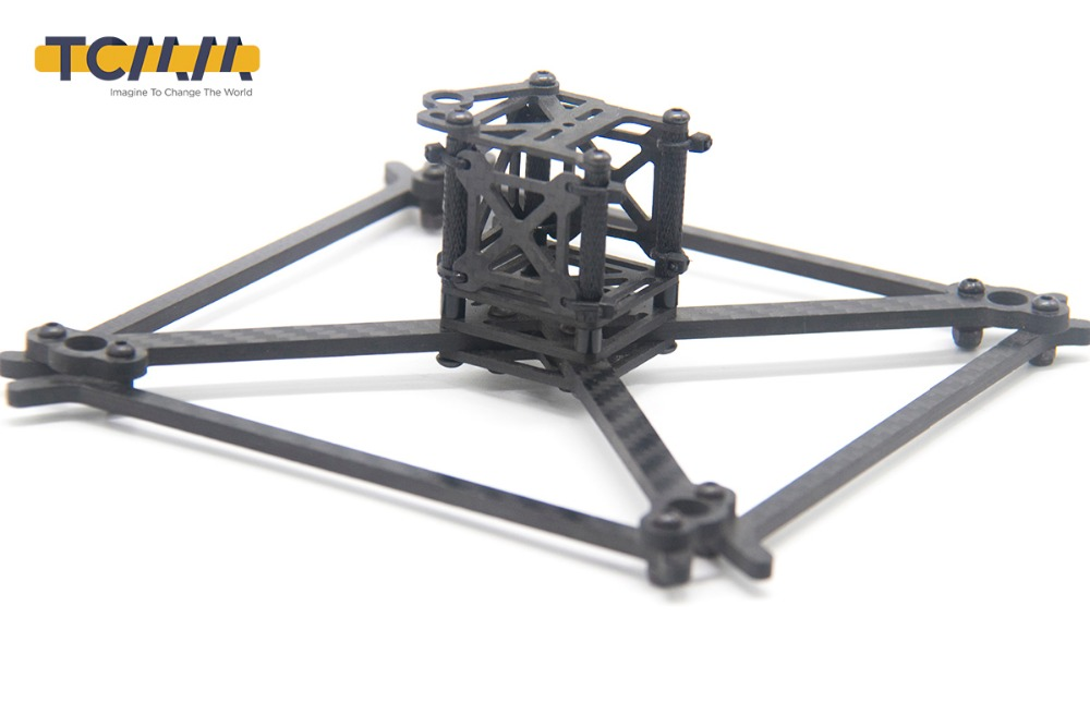 Image 5 - TCMMRC FPV Frame Kit QAV UFX Wheelbase 185mm Thickness 4mm Arm Carbon Fiber for FPV Racing Drone Quadcopter-in Parts & Accessories from Toys & Hobbies