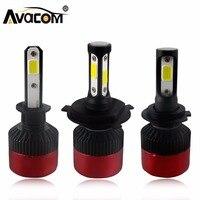 Avacom H4 H7 LED Car Headlight Bulb COB 12V H11 H1 H3 9005 9006 Hi Lo