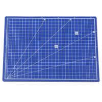 20,5*28 cm A4 alfombrilla de corte de PVC alfombrilla de ratón azul diseño de Patchwork DIY herramienta de tallado Manual de doble cara tabla de corte de autocuración
