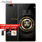 Original Nubia Z17 4G Borderless 23MP Dual Cameras 6GB RAM 128 ROM Mobile Phone 5.5 inch Snapdragon 835 Octa Core Android 7.1