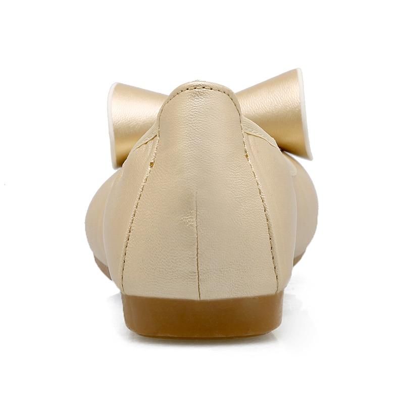 Ciel Chaussures Mode Mujer 2018 45 Henscarying Plus Cuir En bleu Ballerine Beige Taille clair Ballerines Zapatos noir Femmes Dames marron pu La 44 Mocassins Casual B0qdq5