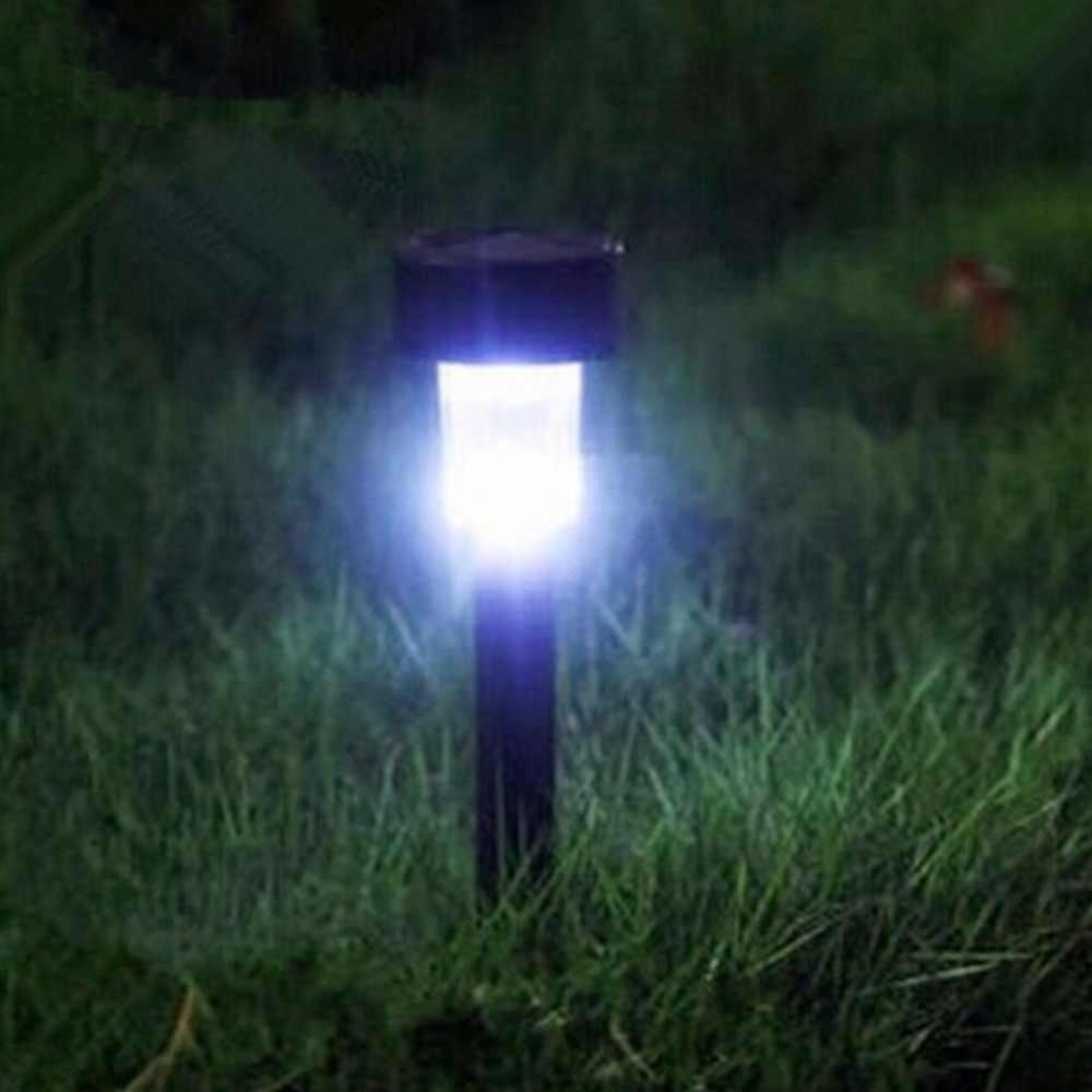 5 шт./лот солнечная панель светодиодный Спайк точечный свет уличный прожектор сад двора путь лужайка Уличные светильники на солнечной батарее заземление Солнечный свет