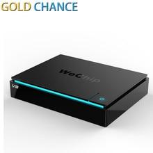 Original WeChip V3 Android TV Box RK3229 Octa núcleo 1 GB/8 GB Wifi 2.4G Android 5.1 Smart Tv Caja Media Player Mejor que V88