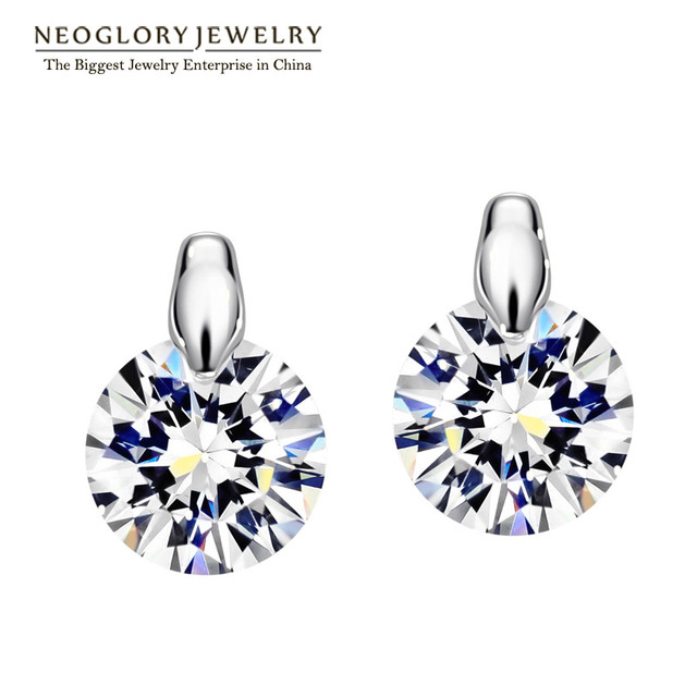 Neoglory Charm Cute Stud Earrings Women Gifts Fashion Wedding Bridal Online Ping Indian Jewelry 2018