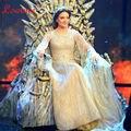 Contas de Cristal Grande Gatsby marroquino Kaftan Longo Handy TV Show de Celebridades Vestidos Vestidos de Baile Da Soros Abiti da Cerimonia