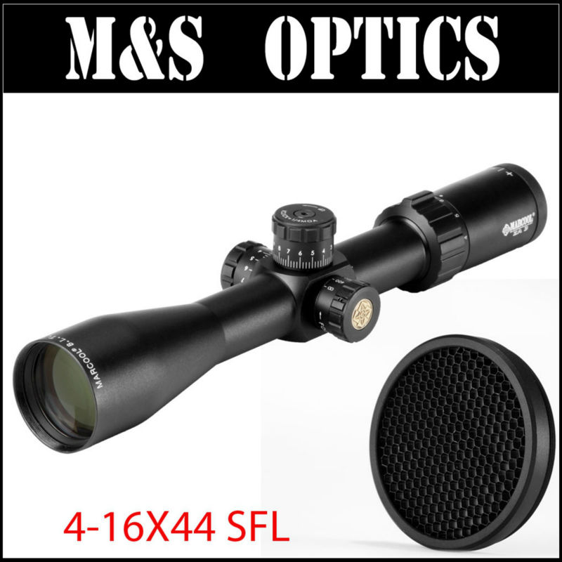 HY1425 MARCOOL ALT 4-16X44 SFL Air Guns Rifles Optical Sight Riflescope Scope MAR-028 Reticle For Hunting Spotting marcool alt za3 5 25x56 sfir riflescope