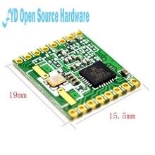 RFM69HW 868Mhz مثبت جهاز إرسال واستقبال عالية المتكاملة هوفر اللاسلكية 868S2 وحدة SPI 1.8 3.6 فولت تيار مستمر 0 800 متر المسافة