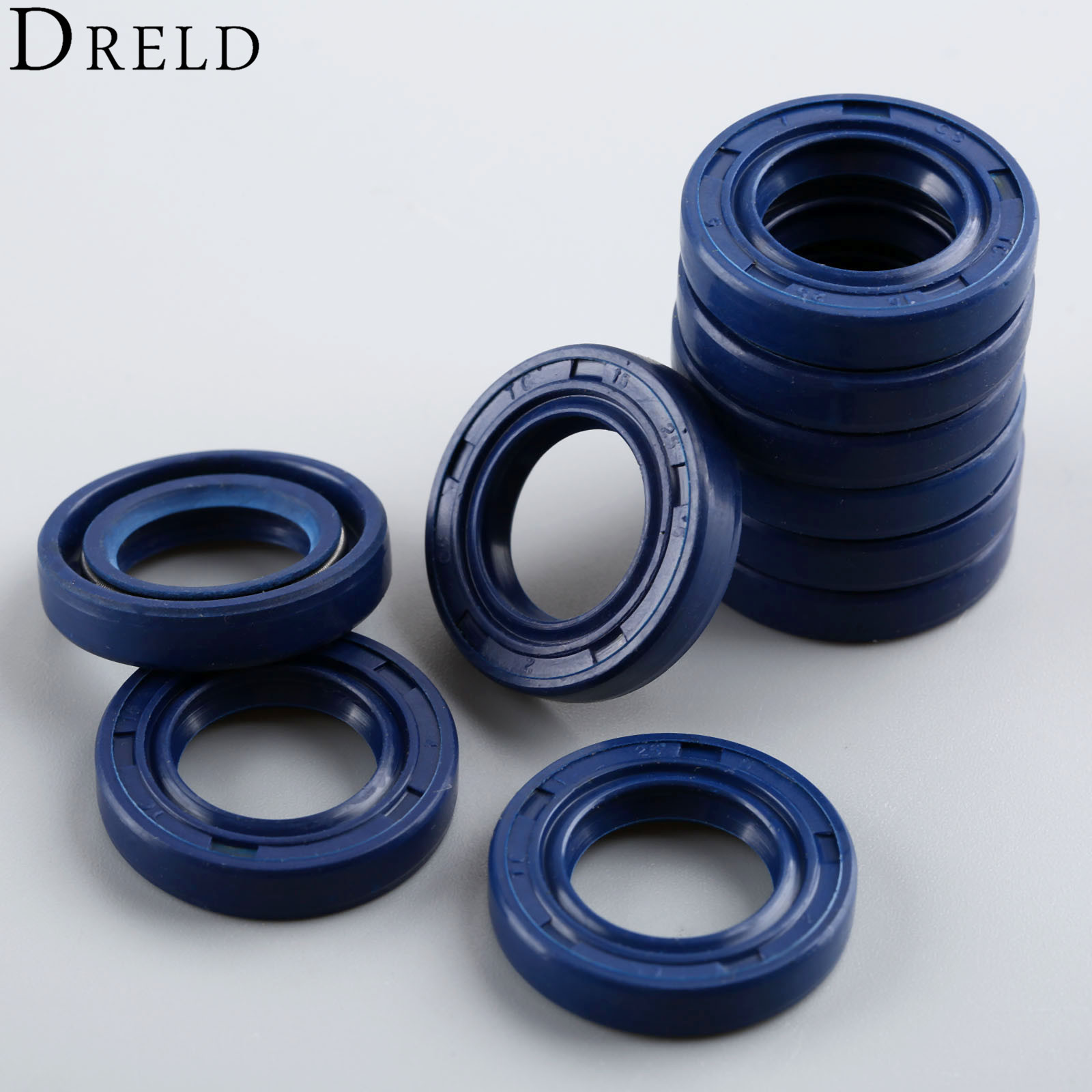 DRELD 10Pcs/lot Chainsaw Oil Seal Kit For STIHL MS250 MS230 MS210 MS180 MS170 017 018 021 023 025 Chainsaw Parts # 9638 003 1581
