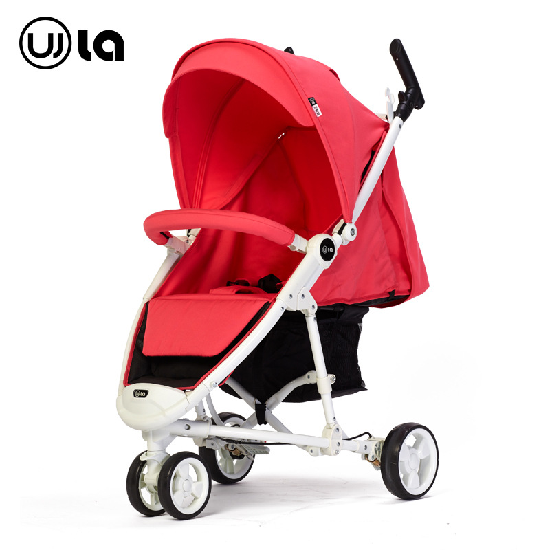 European Landscape High Light baby Tricycle Folding Baby  Trolley Can Sit And Lie Baby Umbrella Carriage kds twin baby stroller high landscape two baby trolley hand double fold front and rear can lie luxury umbrella carts