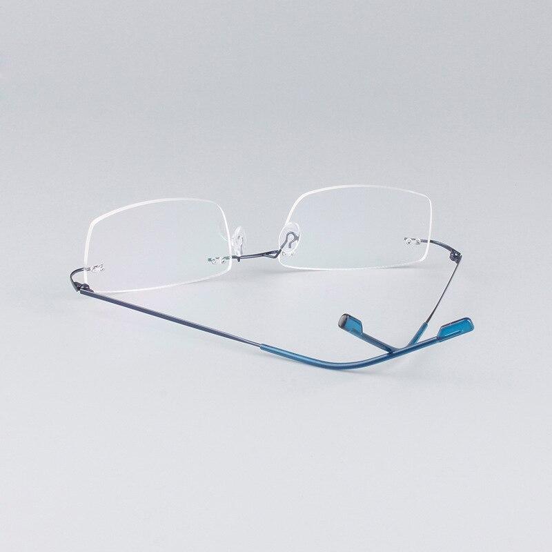 1613f50807 TFJ Pure Titanium Women s Flexible Fine Eyeglass Frames Full Rim Women  Eyewear Prescription Glasses Myopia   Reading -in Eyewear Frames from  Apparel ...