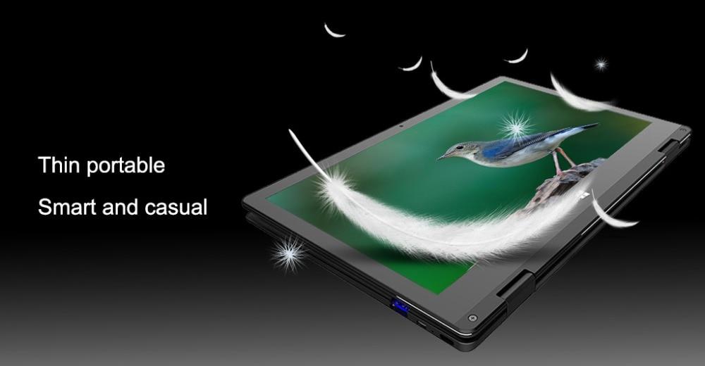 light 11.6 inch touchscreen notebook