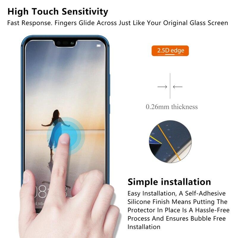 Alta Qualidade de Vidro Temperado Para Huawei honor 9i P20 Lite Protetor de Vidro Temperado Protetor de Tela para Huawei P20 Pro P20 vidro
