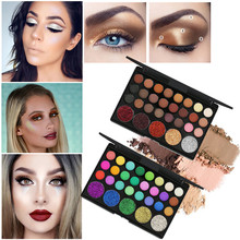 Get more info on the Shimmer Glitter Eye Shadow Powder Palette Matte Eyeshadow Cosmetic Makeup