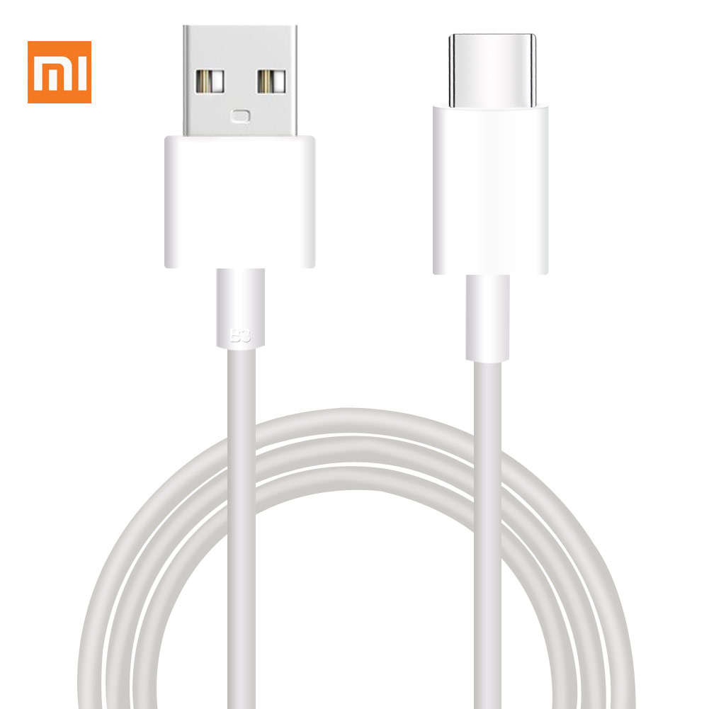 Original Xiaomi Cable Micro USB / Type C Cable Fast Charging Data Line For XIAOMI MI 8 5 S 6 6X A1 Mix2 Redmi 4X 4a 5a Note 4 5