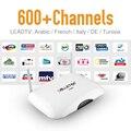 IPTV árabe Caja de la TV e IPTV Libre de Europa Alemania Maroc Sprot canales Francés Apoyo VOD HD Fuerte Wifi 8G Flash Android IPTV caja
