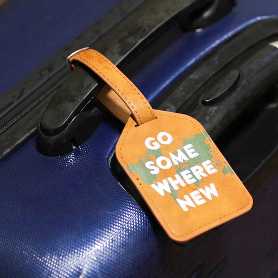 Portable Travel Accessories Luggage Tag Women Pendant Handbag PU Leather Label Suitcase Name ID Address Holder Baggage BoardingPortable Travel Accessories Luggage Tag Women Pendant Handbag PU Leather Label Suitcase Name ID Address Holder Baggage Boarding
