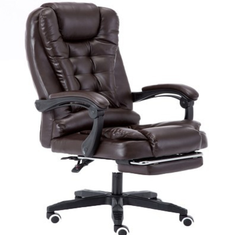 Free Shipping Poltrona Silla Gamer Boss Esports Office Gaming Chair Artificial Leather Can Lie Massage Ergonomics With Footrest