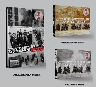 MYKPOP 100 OFFICIAL ORIGINAL EXO DON T MESS UP MY TEMPO Album CD Set KPOP