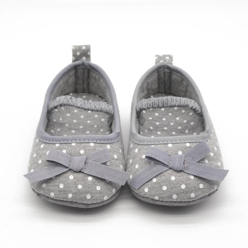 Women And Children Bright Dot Bowknot Crib Shoes Infant Shoes Cotton Comfortable Toddler Baby Shoes Girl First Walkers Sapatos Infantil Menina #20 Suitable For Men