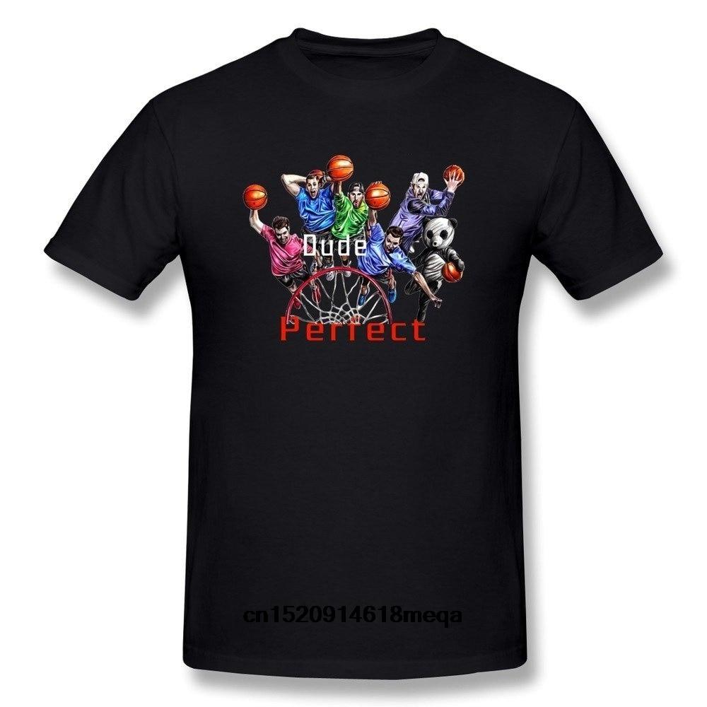 Men's Dude Perfect Trick Shots t Shirt Black-in T-Shirts