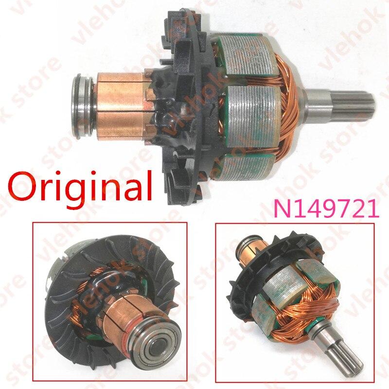 Acessórios da Ferramenta de Poder N309480 para Dewalt Armadura Rotor Dcf880hm2 Dcf883b Dcf883l2 Dcf880b Dcf880l2 N149721 Dcf880 Dcf880m2