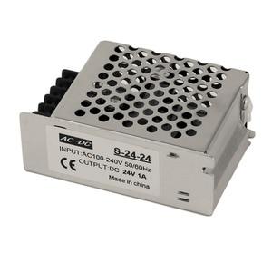 Регулируемый импульсный источник питания постоянного тока 24 В 1 а для светодиодной ленты, импульсный источник питания нового стиля