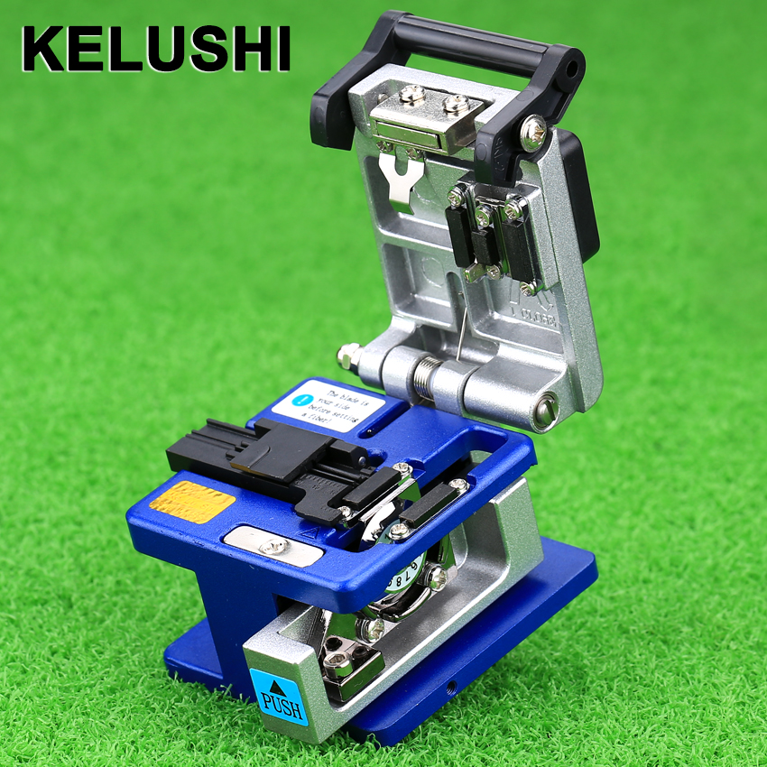 KELUSHI FC-6S Fiber Cleaver Cold Connection Tool Optical Fiber Cleaver For SUMITOMO Coating Diameter:250um - 900um Used 12 Posit