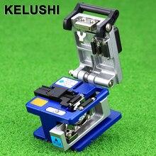 KELUSHI FC 6S الألياف الساطور الباردة اتصال أداة جهاز تقطيع الألياف البصرية للطلاء سوميتومو القطر: 250um   900um تستخدم 12 posit