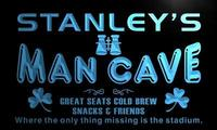X0107 Tm Stanley S Man Cave Skybox Custom Personalized Name Neon Sign Wholesale Dropshipping