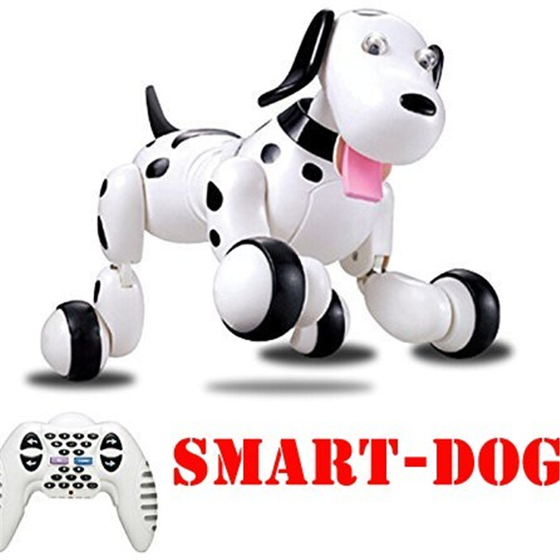 777 338 Birthday Gifts RC zoomer dog 2 4G Wireless Remote Control Smart Dog Electronic Pet