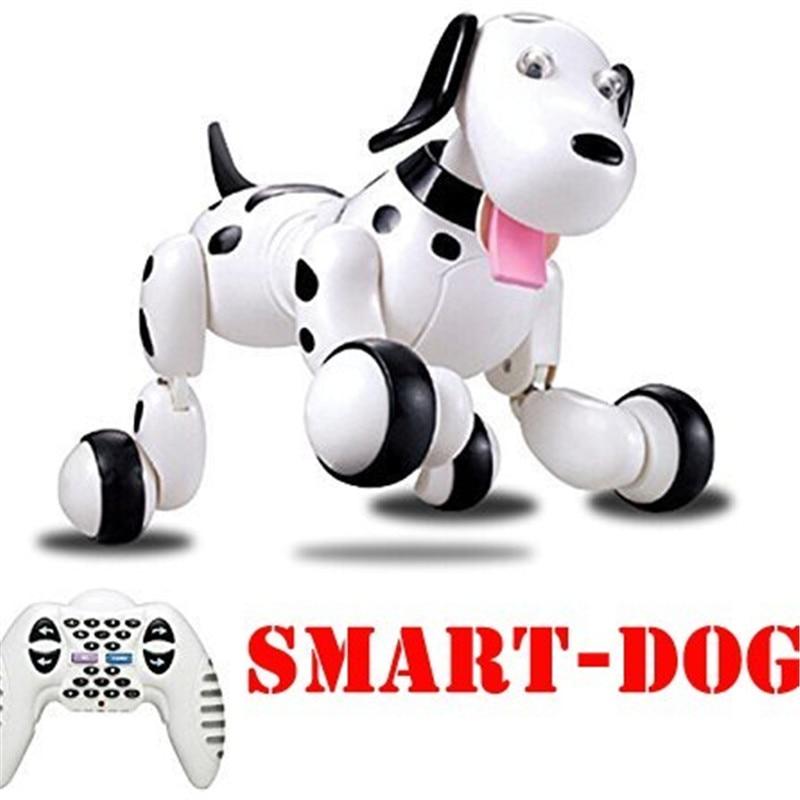 777-338 cadeaux d'anniversaire RC zoomer chien 2.4G télécommande sans fil chien intelligent électronique Pet éducatif jouets pour enfants Robot jouets