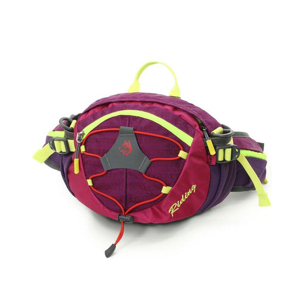 Unisex Adjustable Travel Hand Free Waterproof Waist Running Bag Sports Card Phone Carrying Hiking Sport Waist Belt Pack P15