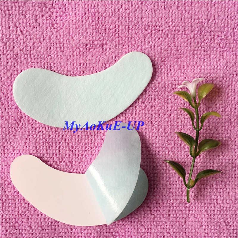 500 накладные ресницы для наращивания бумажные нашивки наклейки на кончики под накладки для глаз инструменты для макияжа