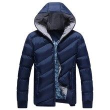 2016 Новые Случайные Хлопка мягкой Зимой Куртки Мужчины Хорошее Качество Толстые Теплые Зимние Пальто Для Мужчин