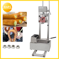 Mars 3L manual churros making machine /churros maker; spanish churro machine spain donut machine Latin fruit maker|Waffle Makers|Home Appliances -