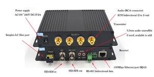 Image 5 - Hohe Qualität HD SDI Video/Audio/Daten/Ethernet 1310/1550 Faser Optische Medienkonverter Sender und Recevier für HD SDI CCTV