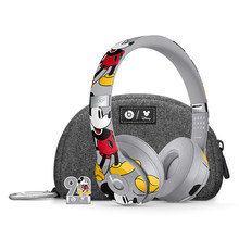 Beats Headphones Solo3 Wireless Bluetooth Headset Mickey's 90th Anniversary Edition On Ear Earphones Handsfree with Mic(China)