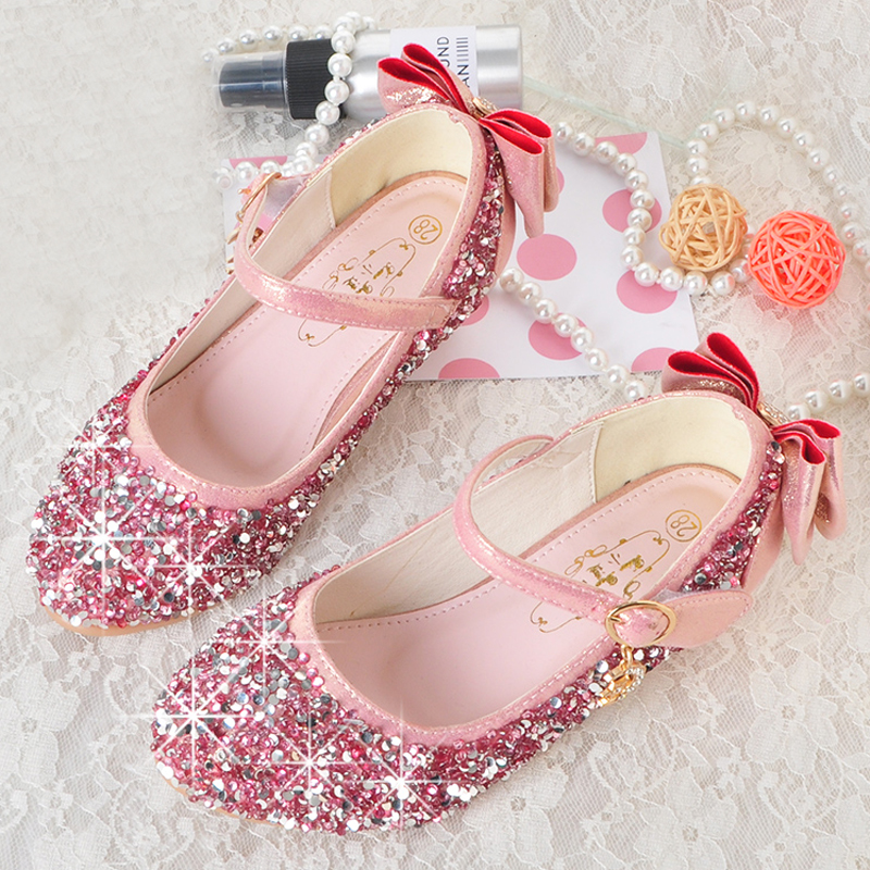 Mudipanda 4-13 years old girl princess Sandals Childrens shoes 6 little girl 9 high heel ...