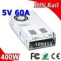 S 400 5 400W 5V LED Power Supply Transformer 110V 220V AC To DC 5V Output Driver for CCTV Camera LED Strip