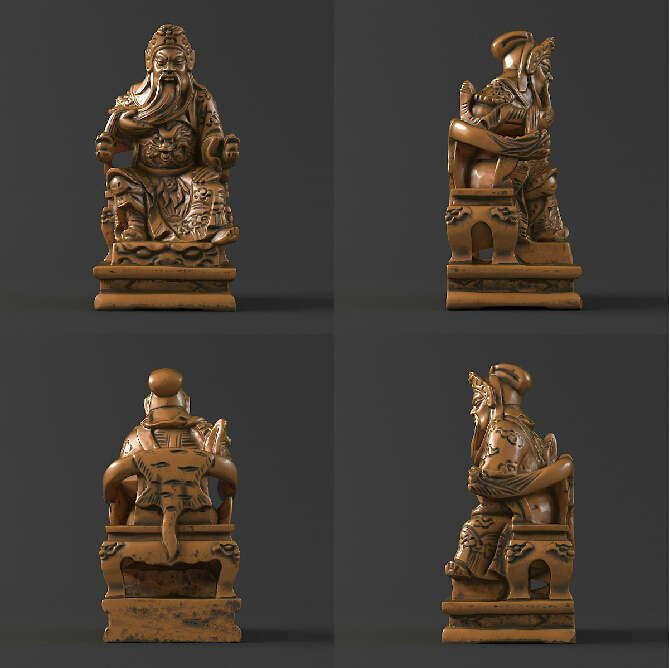 3D model stl format, 3D solid model rotation sculpture for cnc machine Kwan Kung martyrs faith hope and love and their mother sophia 3d model relief figure stl format religion for cnc in stl file format