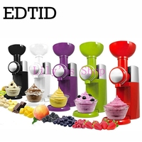 NEW High Quality Mini DIY Fruit Automatic Ice Cream Machine Ice Cream Maker Household For Gift