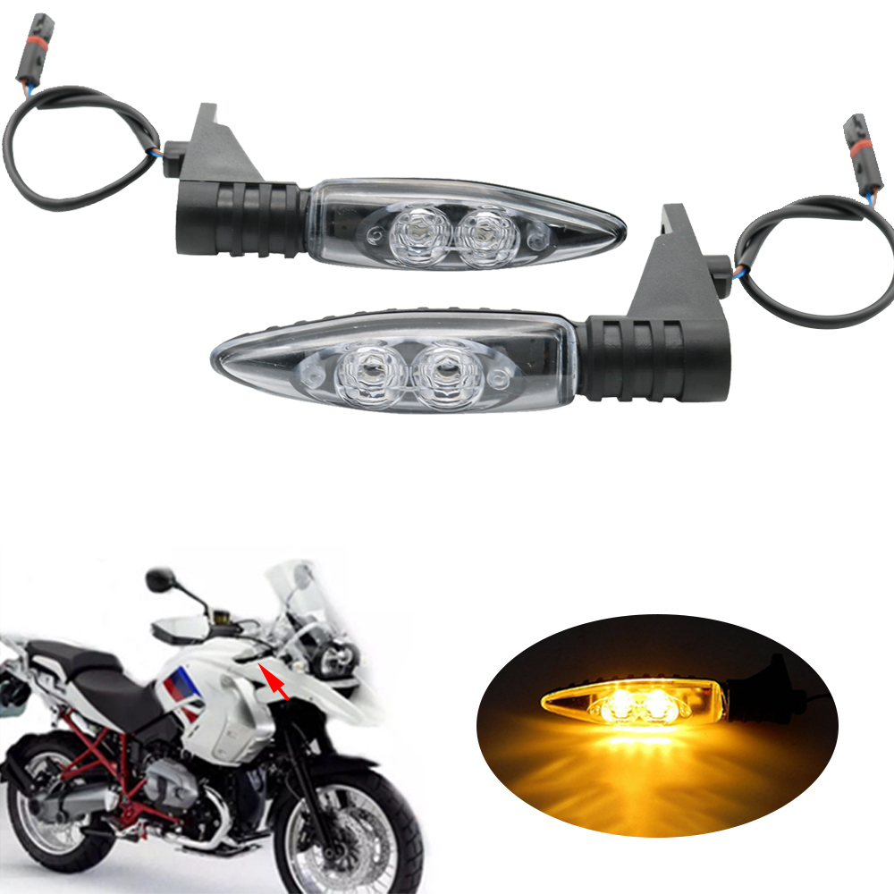 For BMW Motorcycle Rear LED Turn Signal Indicators Light R1200GS S1000RR HP4 F800GS K1300S G450X F800ST R nine T R1200R s1000rr turn led lights