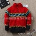 Nuevos Niños suéteres suéter botón cadigan bebé guapo de moda de la marca del cabrito Al Por Menor