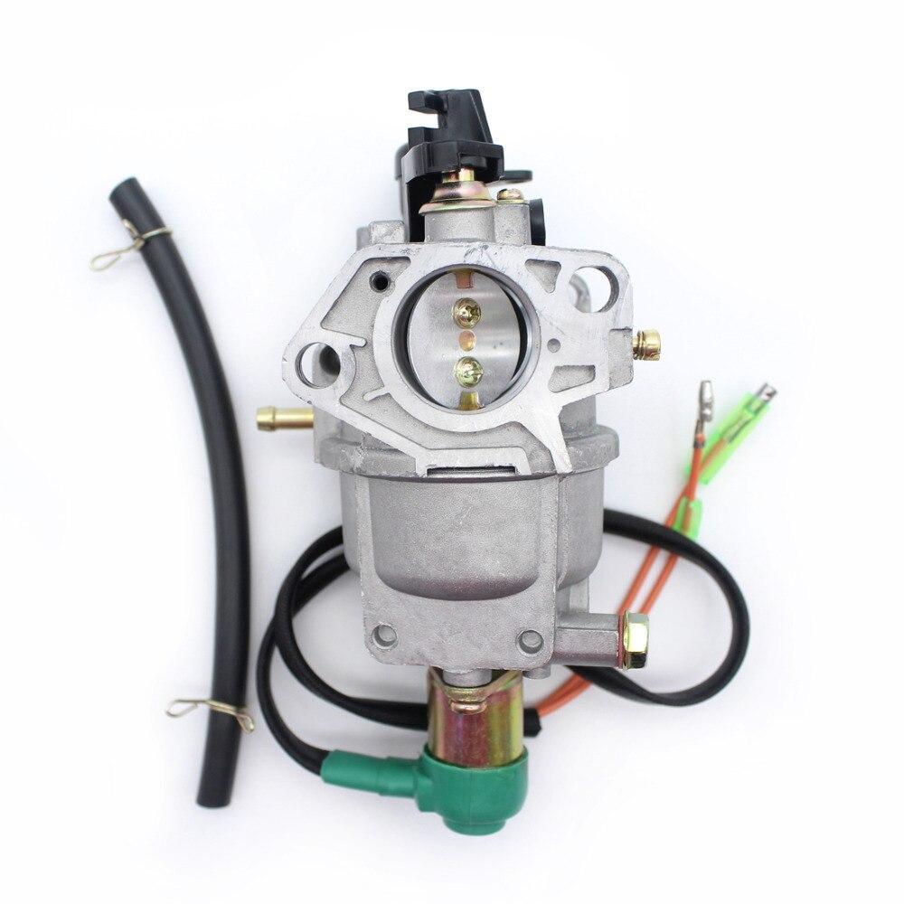 Generator Carburetor For HONDA GX390 GX340 EC6500 188F 389CC 5KW Gas Engine Motor Generators AUTO CHOKE
