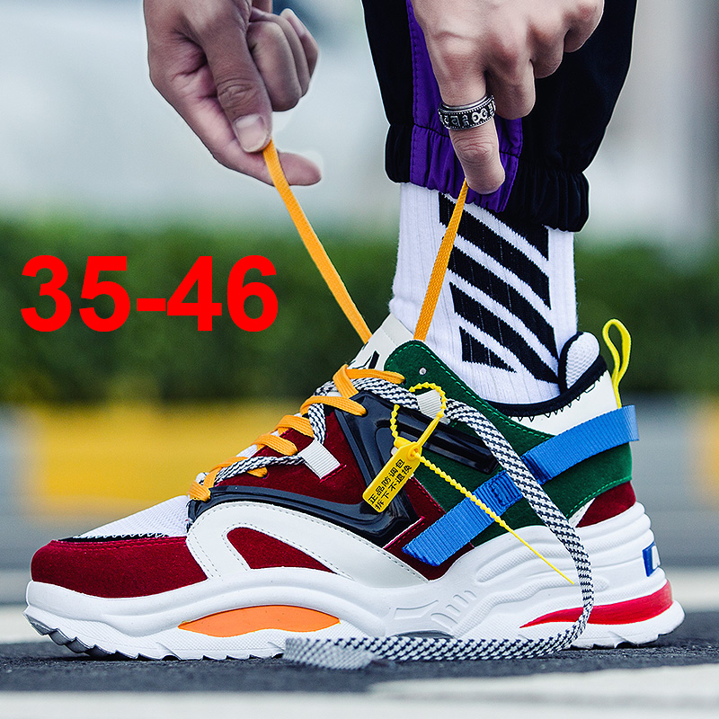 huge selection of 30ec6 38375 US $20.86 |INS Vintage dad sneakers 2019 kanye west 700 light breathable  men casual shoes zapatillas hombre casual tenis masculino dad shoe-in Men's  ...