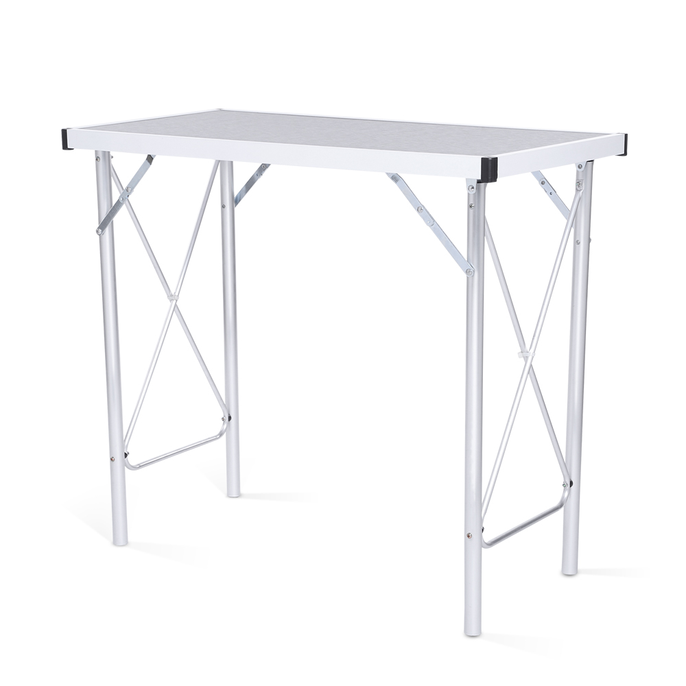 Portable Folding Table Aluminum Alloy Camping Table Laptop Desk for Picnic Working Office Firm Waterproof