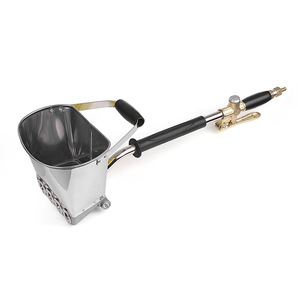 Spray Gun For Painting Walls Cement Mortar Sprayer Spray Gun Hopper Gun Render Sprayer Hopper Bucket Gypsum Gun 64cm
