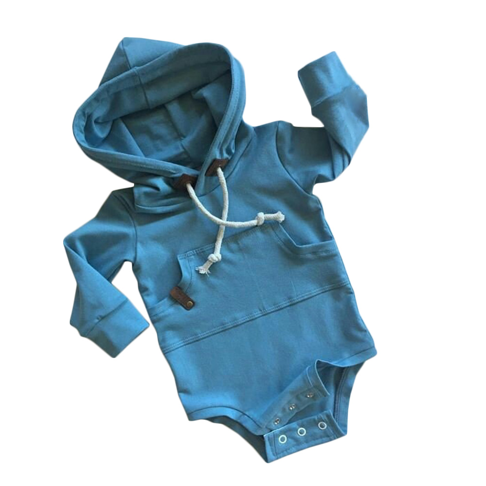 2017 Spring Lovely Sweet Wind Long Sleeved Knit Conjoined One-piece Open Gear Sweater Baby BodySuit